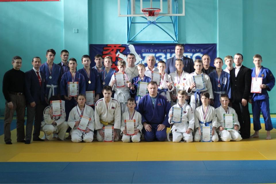 Первенство г. Таганрога по дзюдо среди юношей и девушек 2004-2005 годов рождения.